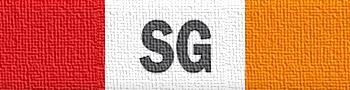 üzerinde SG yazan şerit rozet